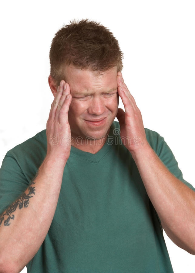 Download Stress headache stock image. Image of health, arms, hand - 23001795
