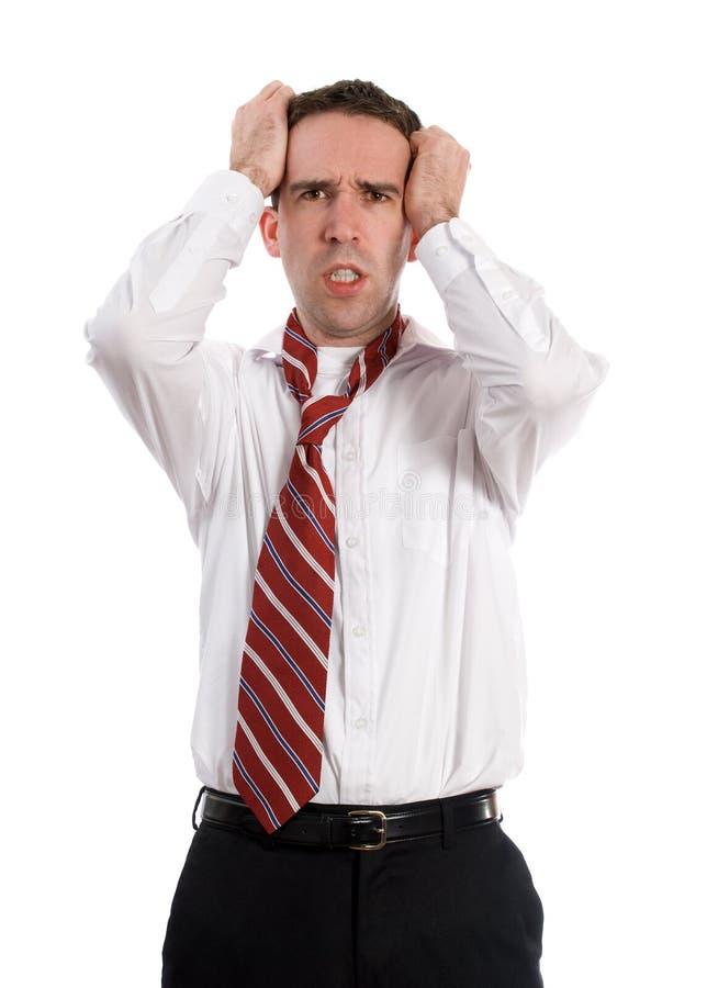 Stress Headache Royalty Free Stock Photo