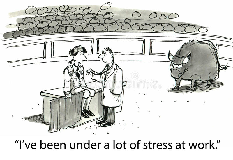 Download Stress stock illustration. Image of diagnosis, business - 36997492