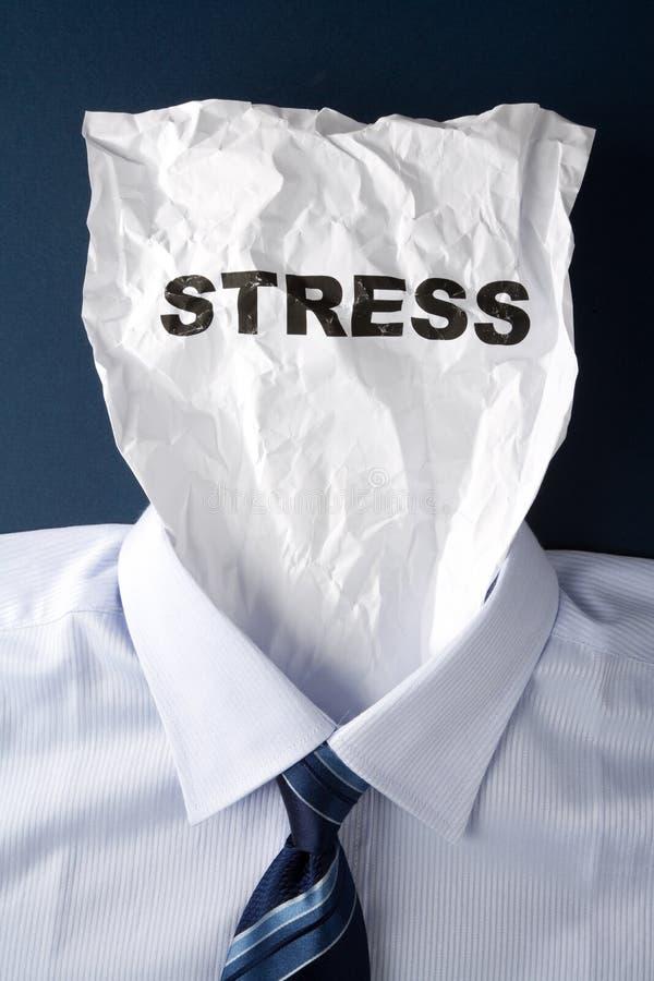 Stress laboral foto de archivo