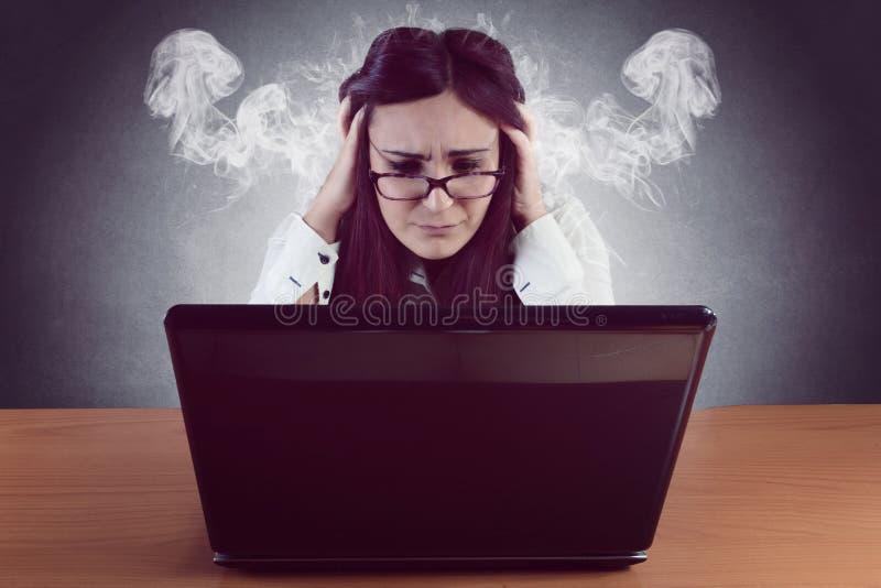 Stress psicologico fotografie stock libere da diritti