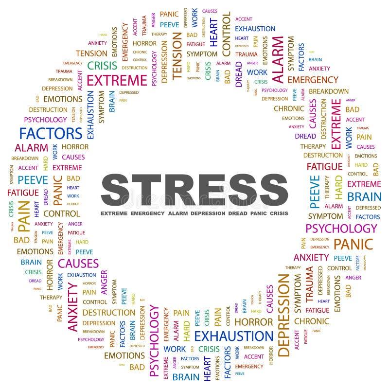 STRESS vector illustration