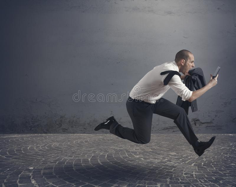 Download Stress at work stock image. Image of jump, call, motivation - 28798123