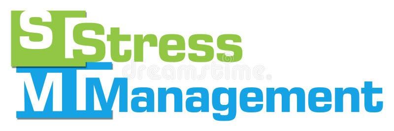 Stressbewältigungs-abstrakte bunte Streifen lizenzfreie abbildung