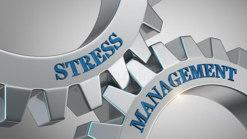 Stressbew?ltigungs-Konzept vektor abbildung