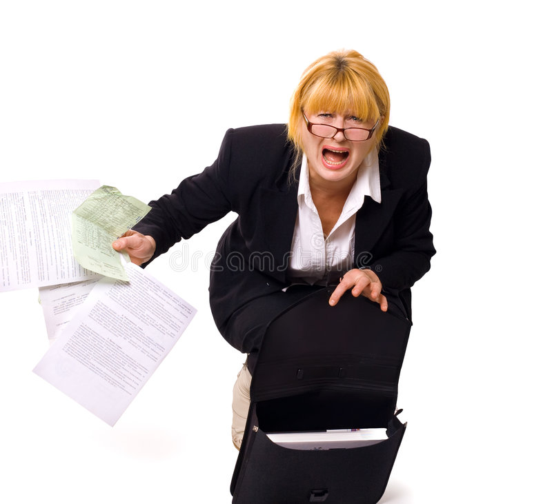 Stressed stock photography