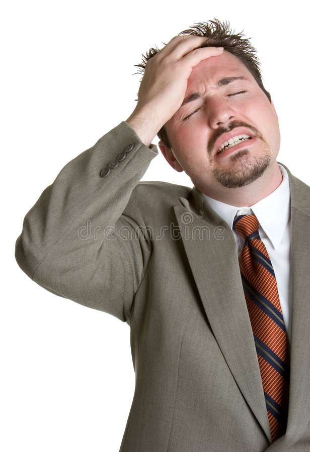 Free Stressed Man Stock Photos - 2460353