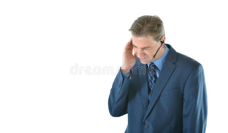 Download Stressed out business man stock photo. Image of male - 83718594