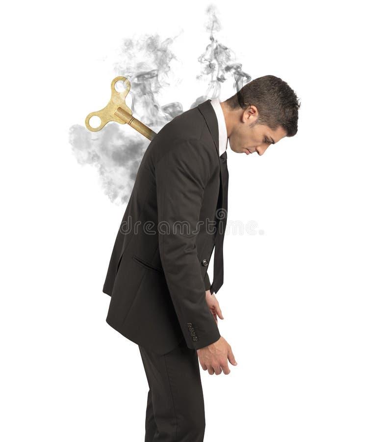 Stresu pojęcie zdjęcie stock