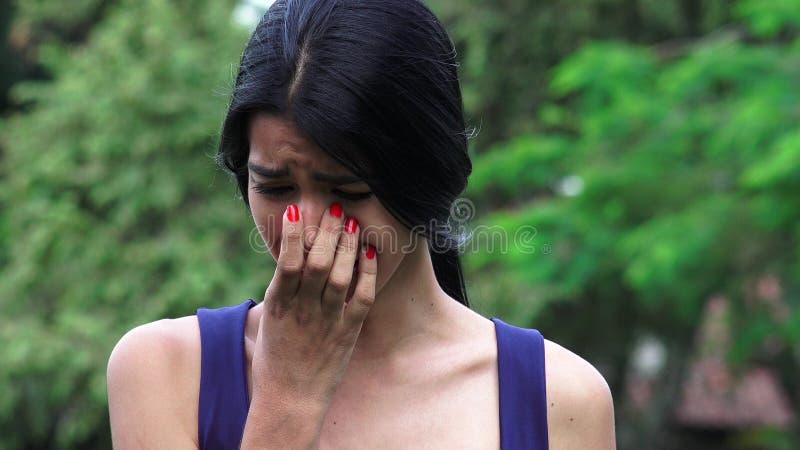 Stresująca młoda osoba zdjęcie stock