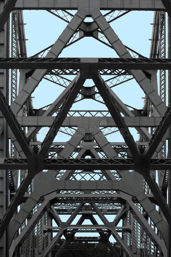 streszczenie bay bridge zdjęcia royalty free