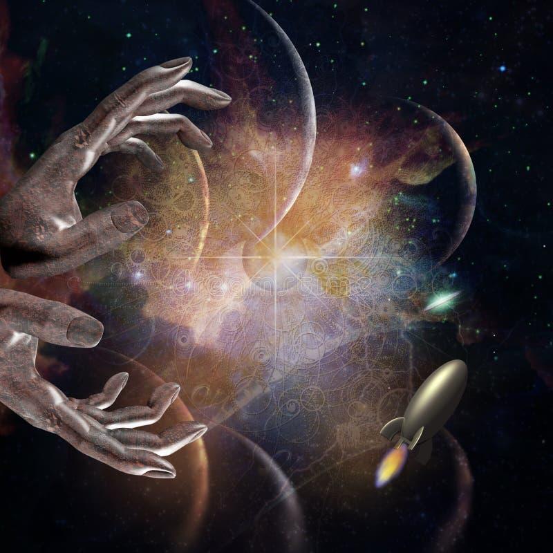 streszczenie przestrzeni ilustracji