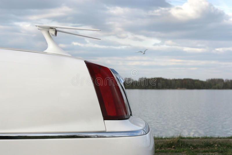 Stretch limo. royalty free stock photo