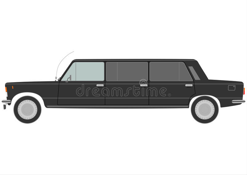 Download Stretch limo stock vector. Illustration of fashion, drive - 30623262