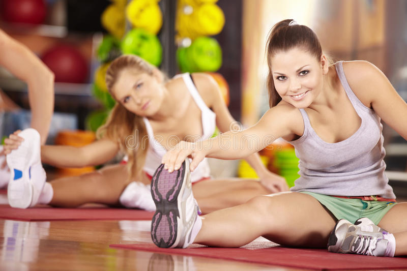 Download Stretching stock photo. Image of beauty, legs, activity - 12508186