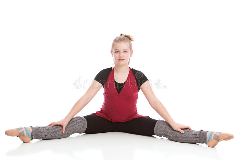 Backbend stock image. Image of warmup, gray, ballet, arch ...