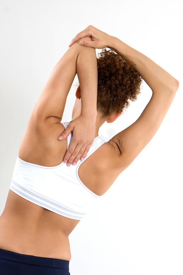 Download Stretching Arms stock image. Image of stretching, gymnastics - 9939601