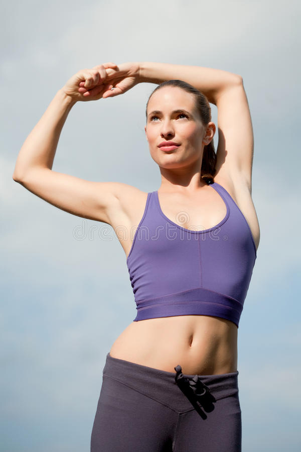 Download Stretching And Warming Up Royalty Free Stock Images - Image: 21347429