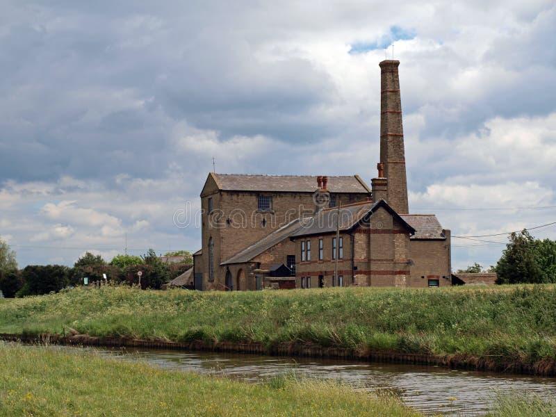 Stretham altes Engin aufgebaut 1831 lizenzfreie stockfotografie