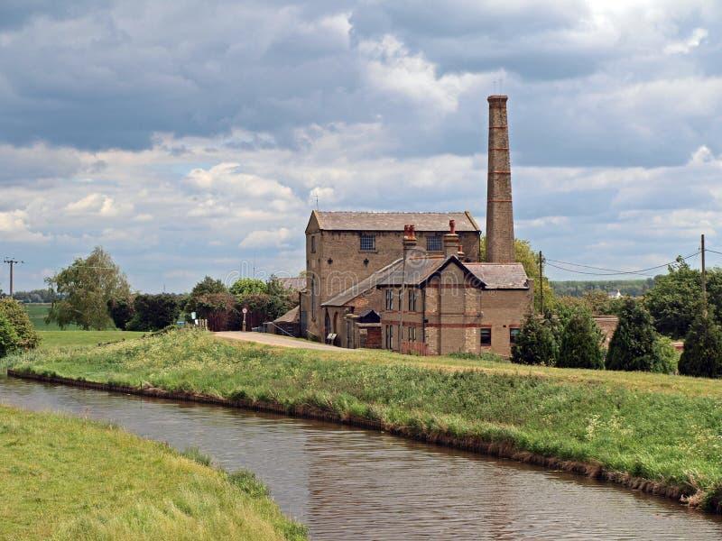 Stretham altes Engin aufgebaut 1831 lizenzfreie stockfotos