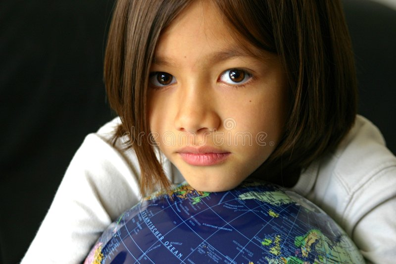 Stretta globale fotografia stock libera da diritti