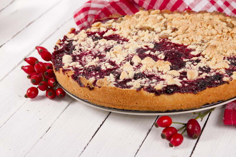 Streusel cake royalty free stock images