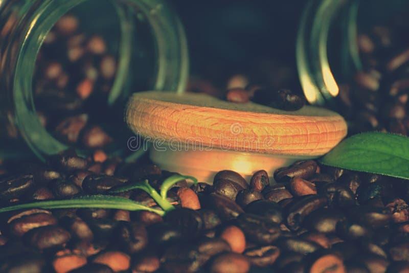 Streuung coffe lizenzfreie stockfotografie
