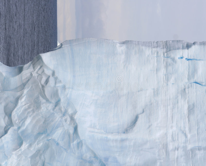 Striations D Iceberg Tabulaires Images stock