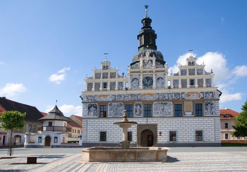 Stribro, Tsjechische republiek stock fotografie