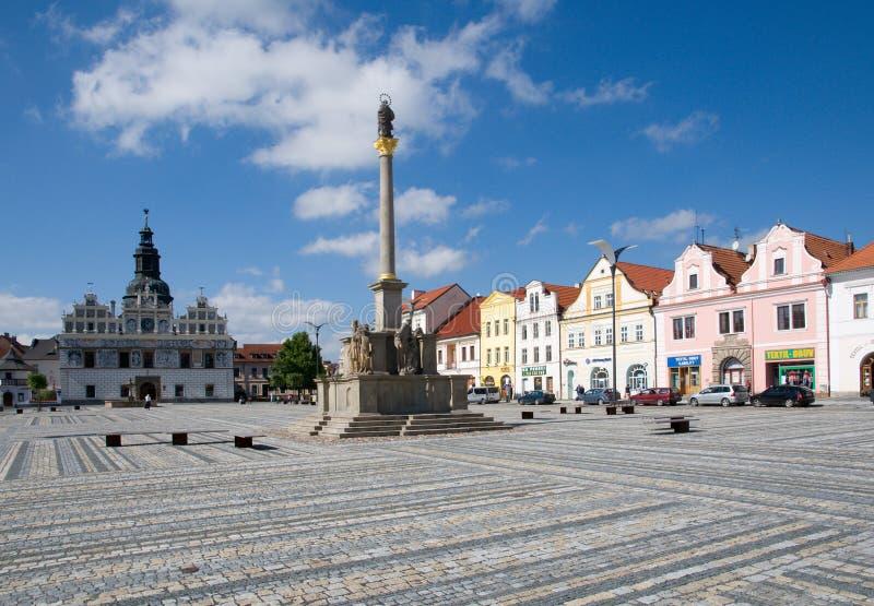 Stribro, Tsjechische republiek royalty-vrije stock foto