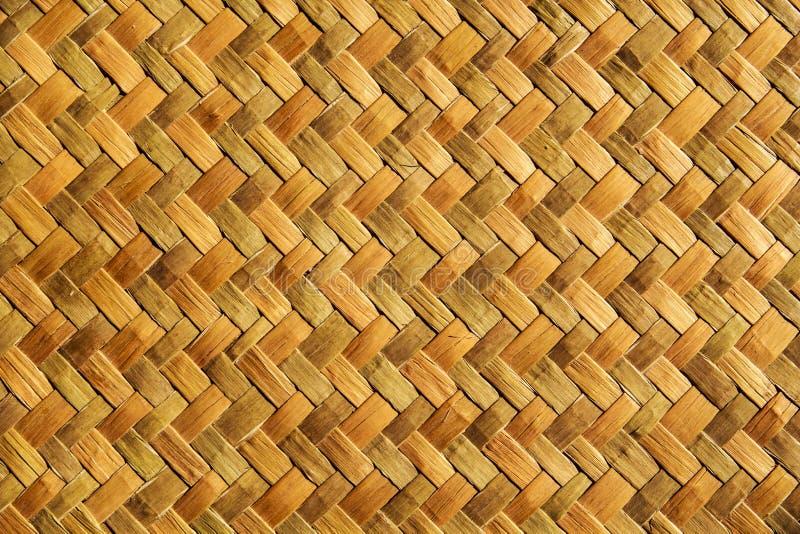 Strickendes Bambusmuster des Hintergrundes lizenzfreie stockfotos