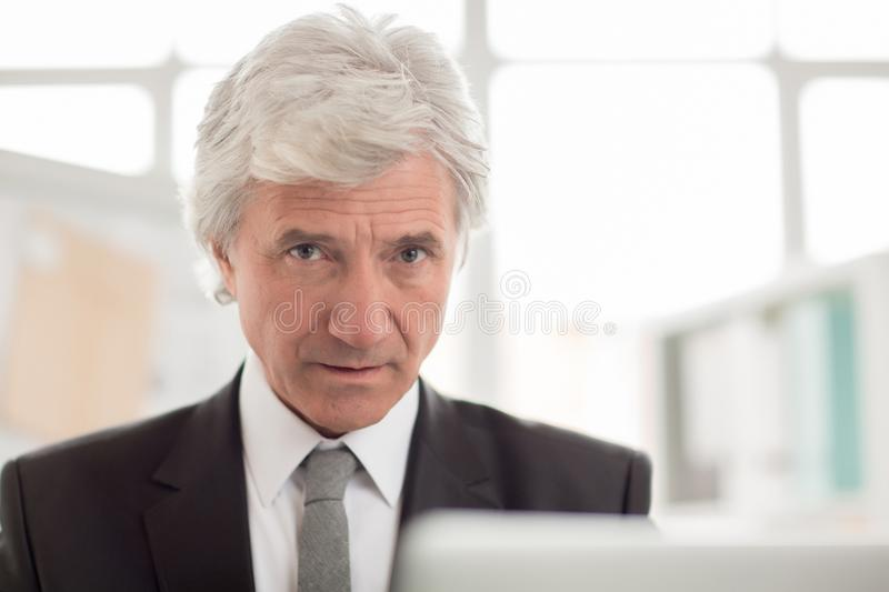 Strict boss royalty free stock image