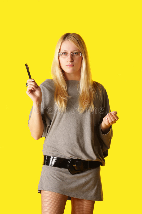 Strict Business Woman Stock Photos