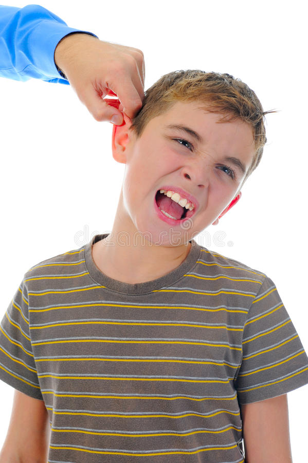 Download Strict Father Punishes His Son Stock Photo - Image: 25338920