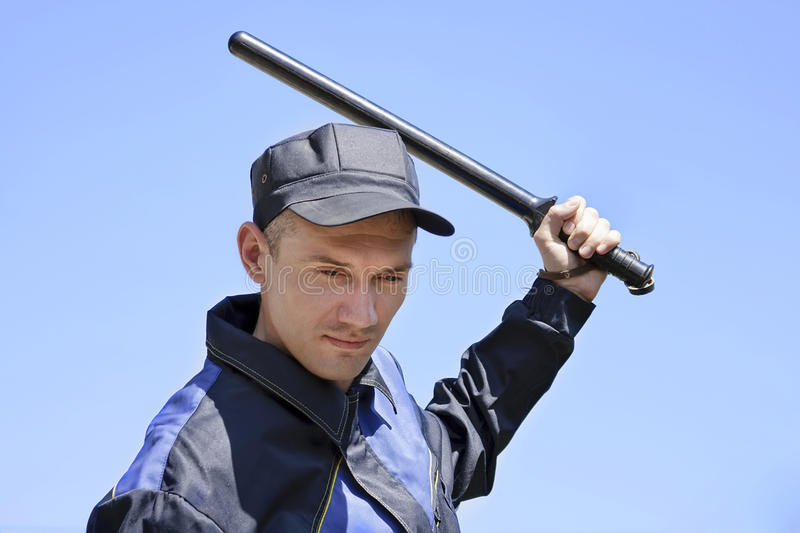 Download The strict security guard stock image. Image of deputy - 14717921