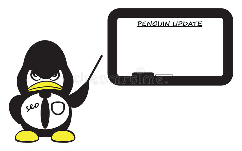 Download Strict SEO Specialist Pointing On Whiteboard Stock Vector - Image: 34326891