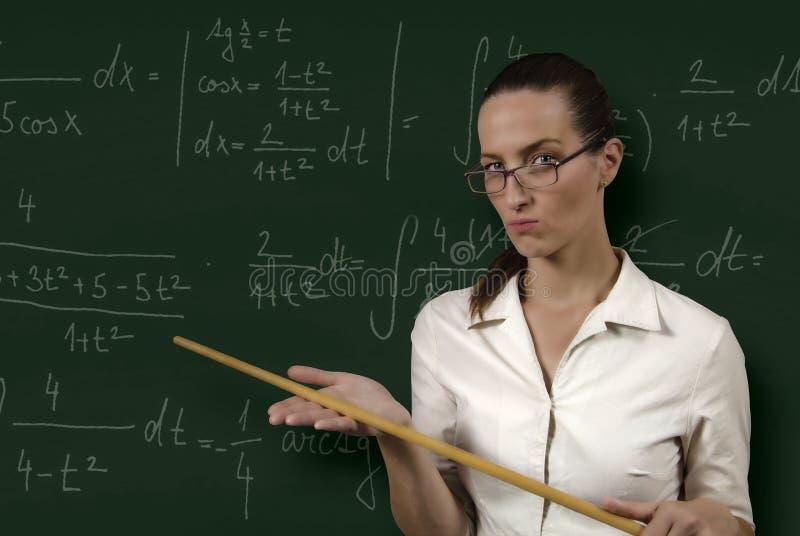 Download Strict teacher stock photo. Image of schoolmistress, hands - 26544436