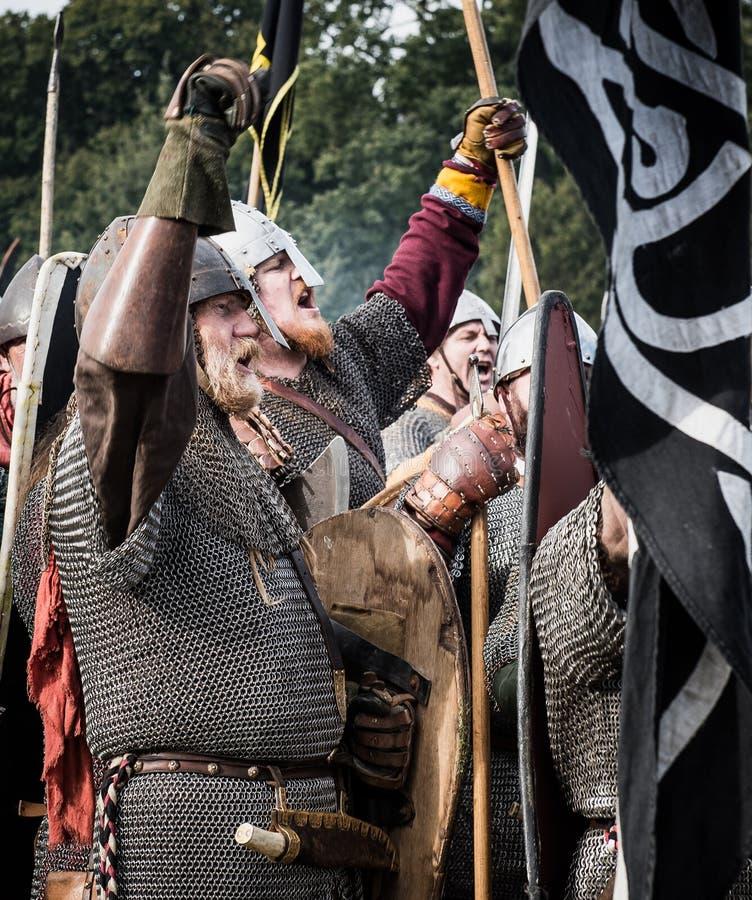 Strid 1066 av Hastings royaltyfri foto