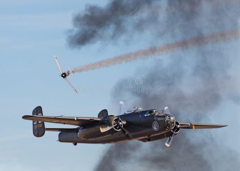 Strid för luft för världskrig II arkivbilder