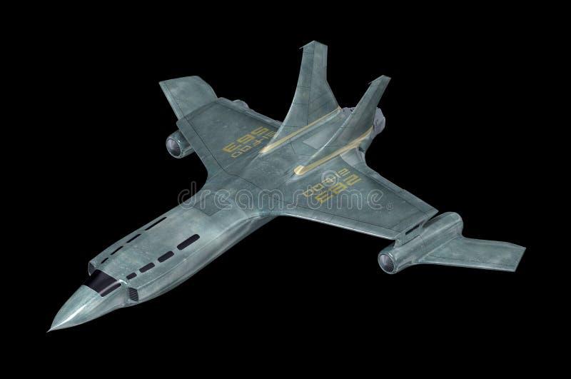 striddesign min egen spaceship Min äga design vektor illustrationer