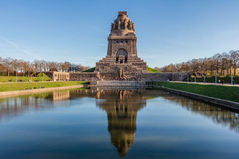 Striden av Leipzig fotografering för bildbyråer