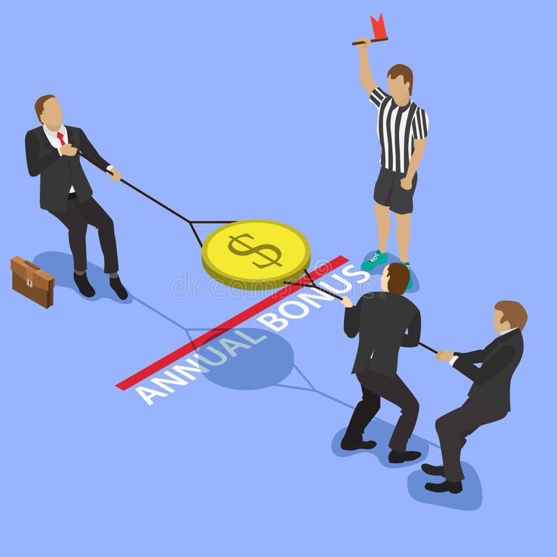 stridighetpengar över stock illustrationer