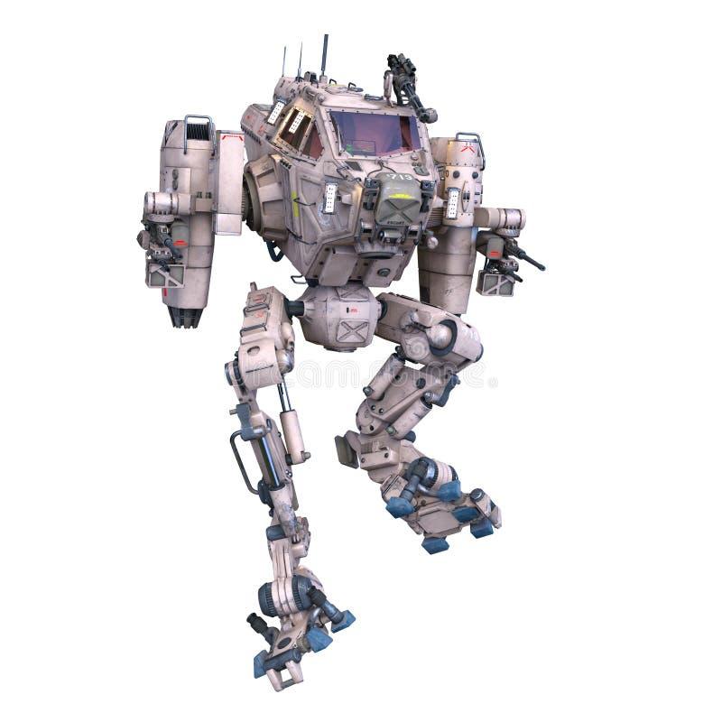 Stridrobot vektor illustrationer