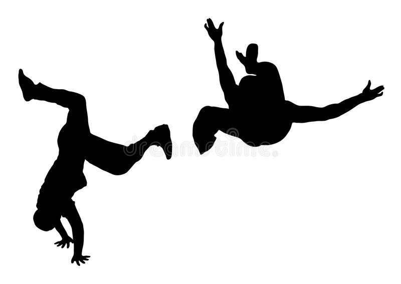 Strijd 3 van de Danser van de straat vector illustratie