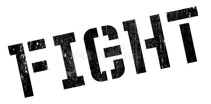 Strijd rubberzegel stock illustratie