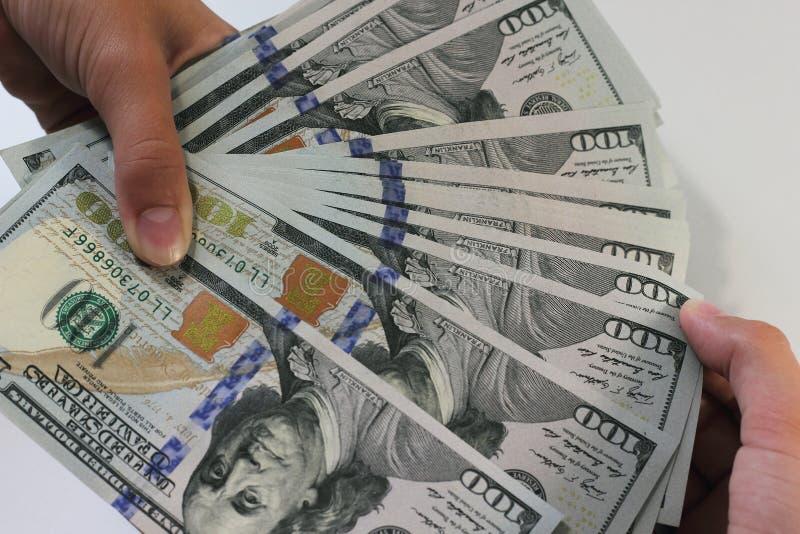 Strijd voor geld royalty-vrije stock afbeelding