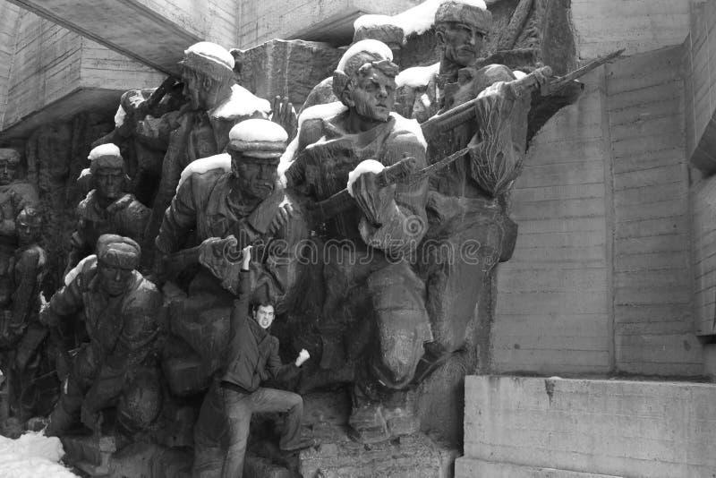 strijders stock foto