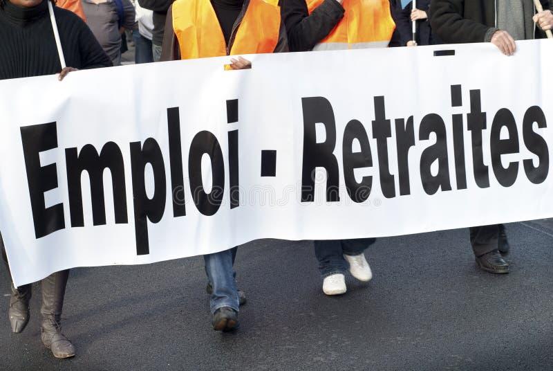 Download Strike stock photo. Image of manifestation, france, retirement - 17045934
