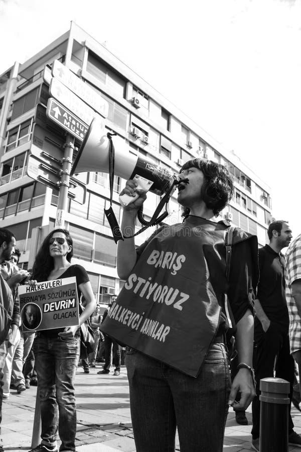Strike For Ankara Peace Rally Bomb Explosions stock photography