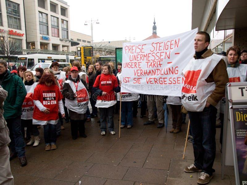 Strike  Germany Editorial Image